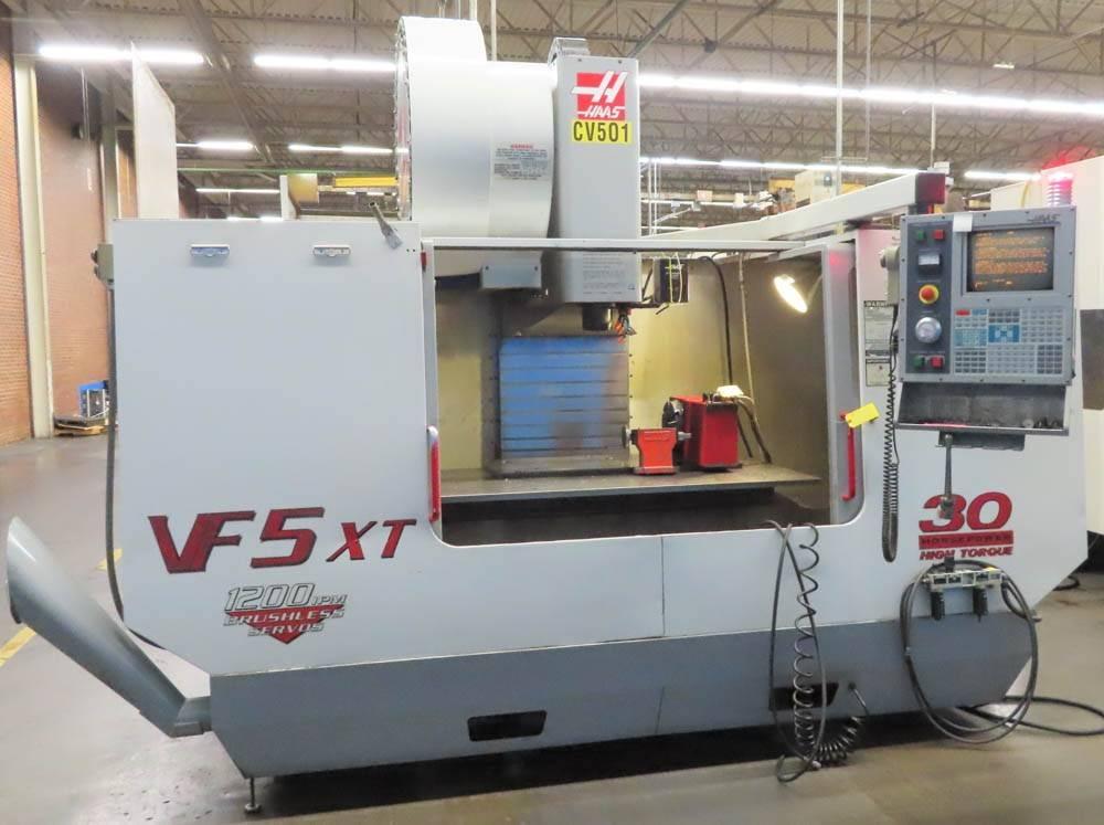 Haas-VF-5-40XT-CNC-Vertical-Machining-Center