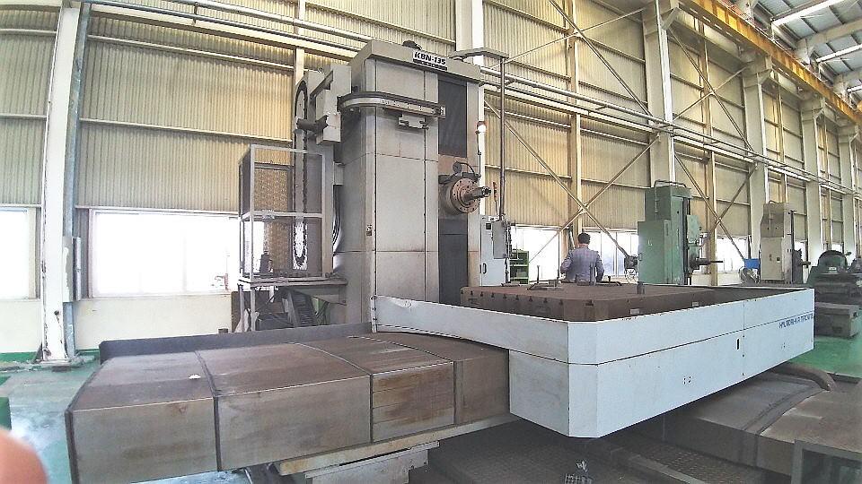 Hyundai-Wia-KBN-135-CNC-Table-Type-Boring-Mill