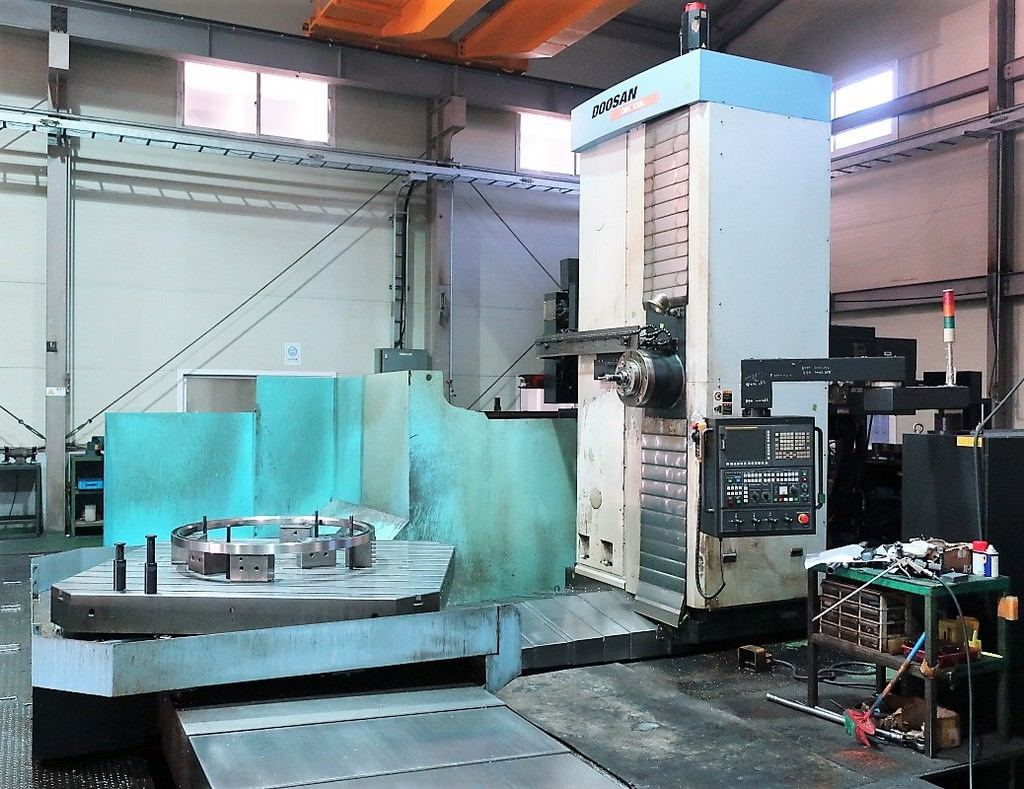 Doosan-DBC-130L-CNC-Table-Type-Horizontal-Boring-Mill