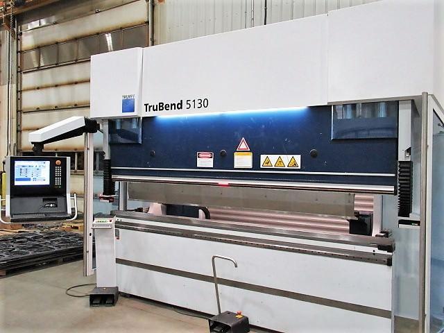 Trumpf-TruBend-5130-8-Axis-CNC-Hydraulic-Press-Brake