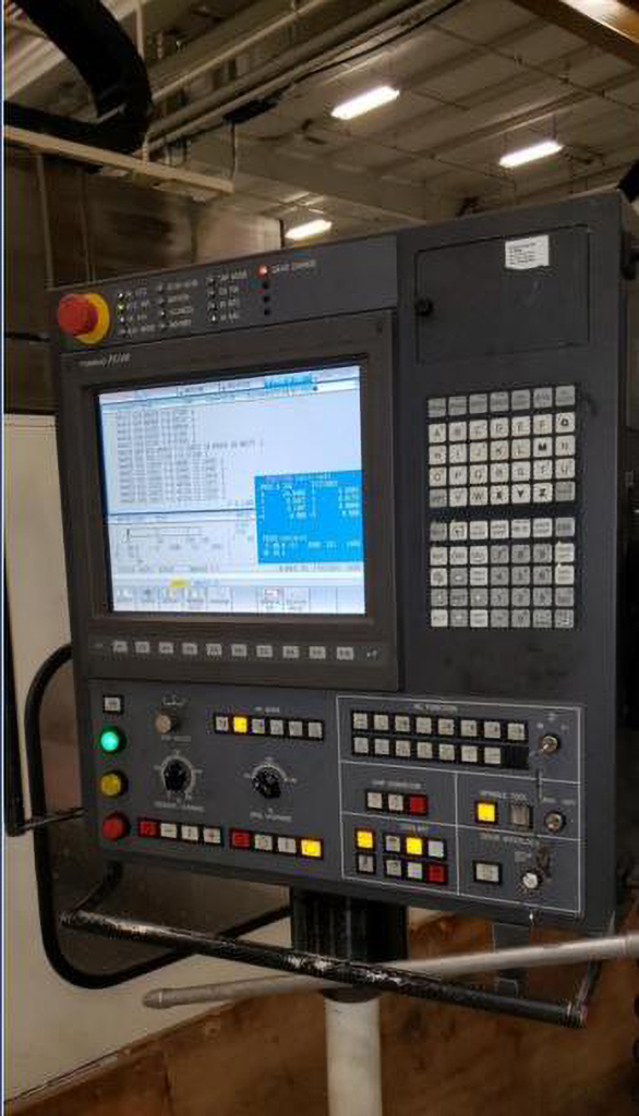 Toshiba MCW-4624 5-Axis CNC Bridge Mill -30448a