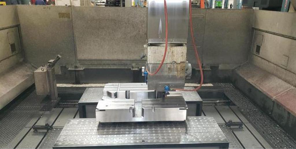 Toshiba MCW-4624 5-Axis CNC Bridge Mill -30448c