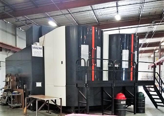 Mazak Integrex e-1850V/12 5-Axis CNC Vertical Boring Mill