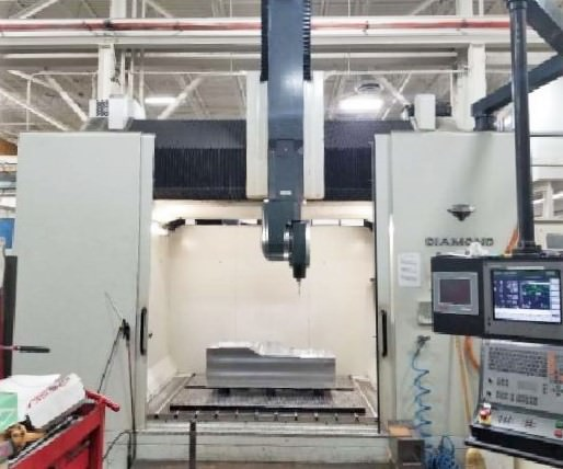 Parpas Diamond  5 Axis CNC Gantry Type  Vertical  Machining Center