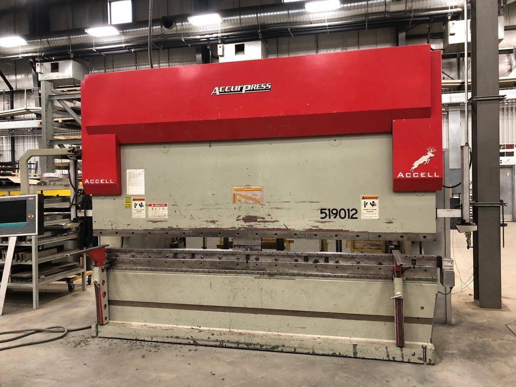 Accurpress-190-Ton-x-12-Accell-9-Axis-CNC-Hydraulic-Press-Brake