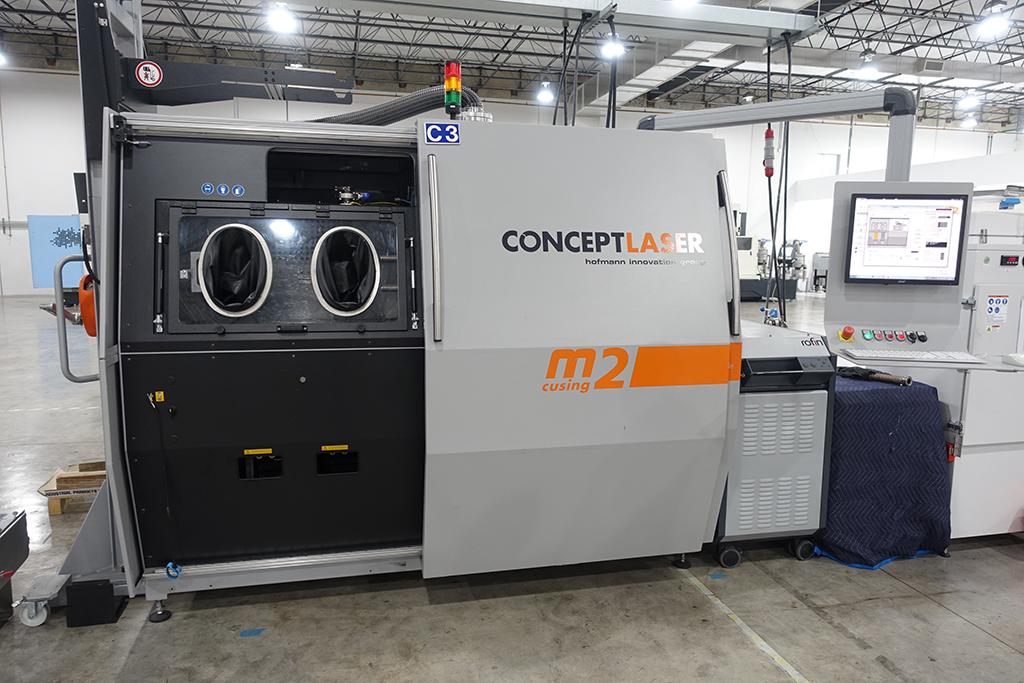 CONCEPT LASER M2 cusing 3D Metal Printer-30470b