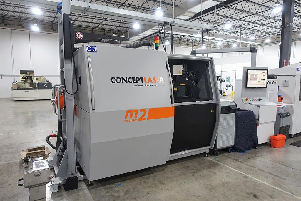 CONCEPT LASER M2 cusing 3D Metal Printer-30470e