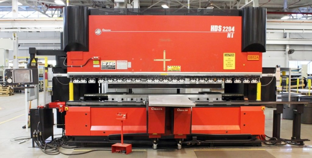 Amada-HDS-2204-NT-242-Ton-x-14-8-Axis-Servo-Hydraulic-Hybrid-CNC-Press-Brake