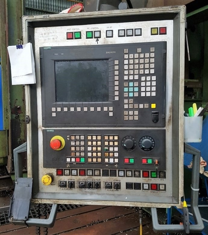 WALDRICH COBURG CNC Travellng GANTRY PLANO MILLER   -30513b