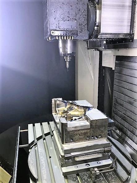 DMG DMU-60 MonoBLOCK 5-Axis CNC Vertical Machining Center-30522d