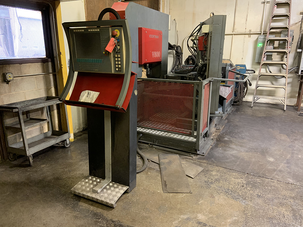 Voortman V500 CNC Punching & Shearing System for Flat Steel
