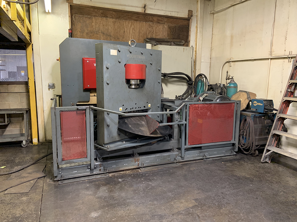 Voortman V500 CNC Punching & Shearing System for Flat Steel-30524a