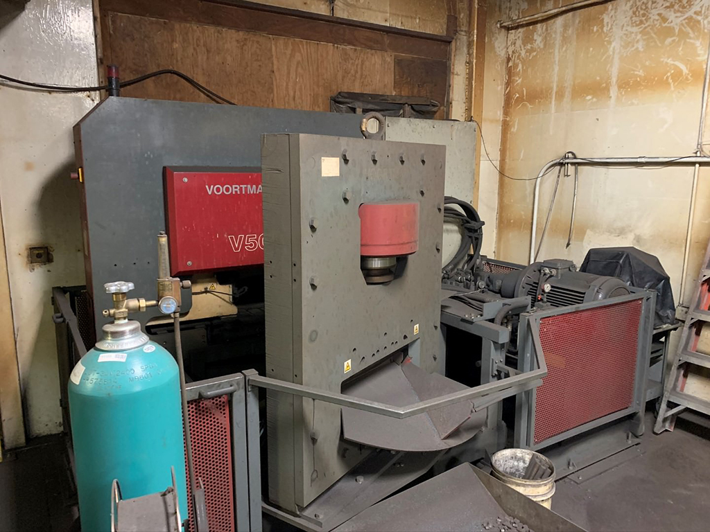 Voortman V500 CNC Punching & Shearing System for Flat Steel-30524d