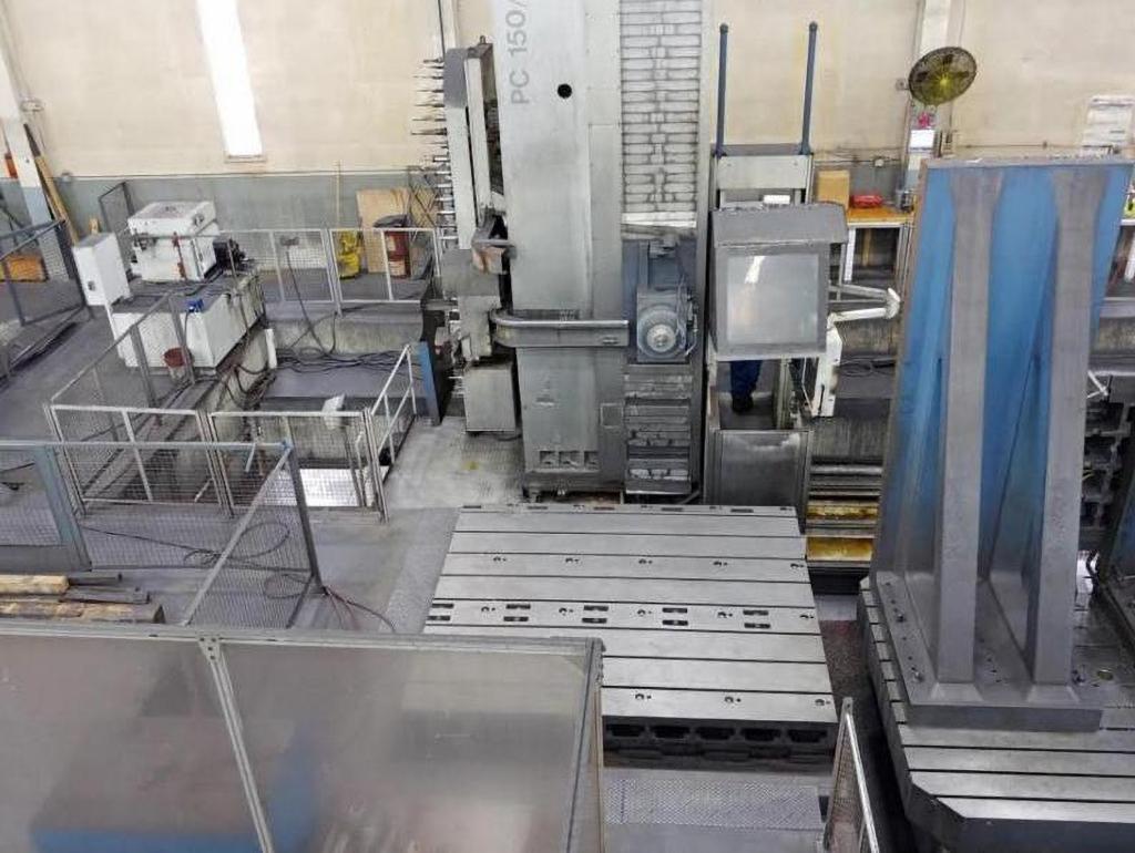 Union PC150 CNC Floor Type Horizontal Boring Mill