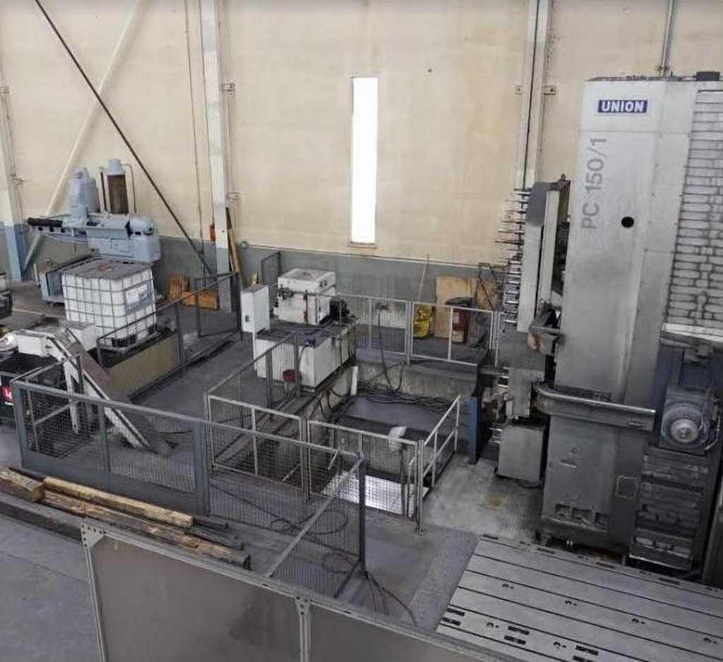 Union PC150 CNC Floor Type Horizontal Boring Mill  -30554a