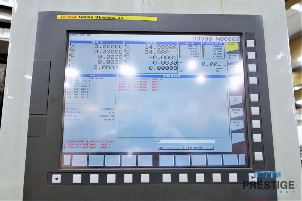 Campbell 1000-80-44-40/43 CNC Vertical Universal Grinder-30566c