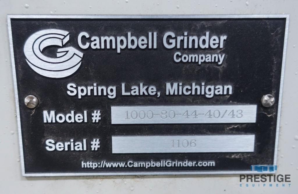 Campbell 1000-80-44-40/43 CNC Vertical Universal Grinder-30566k