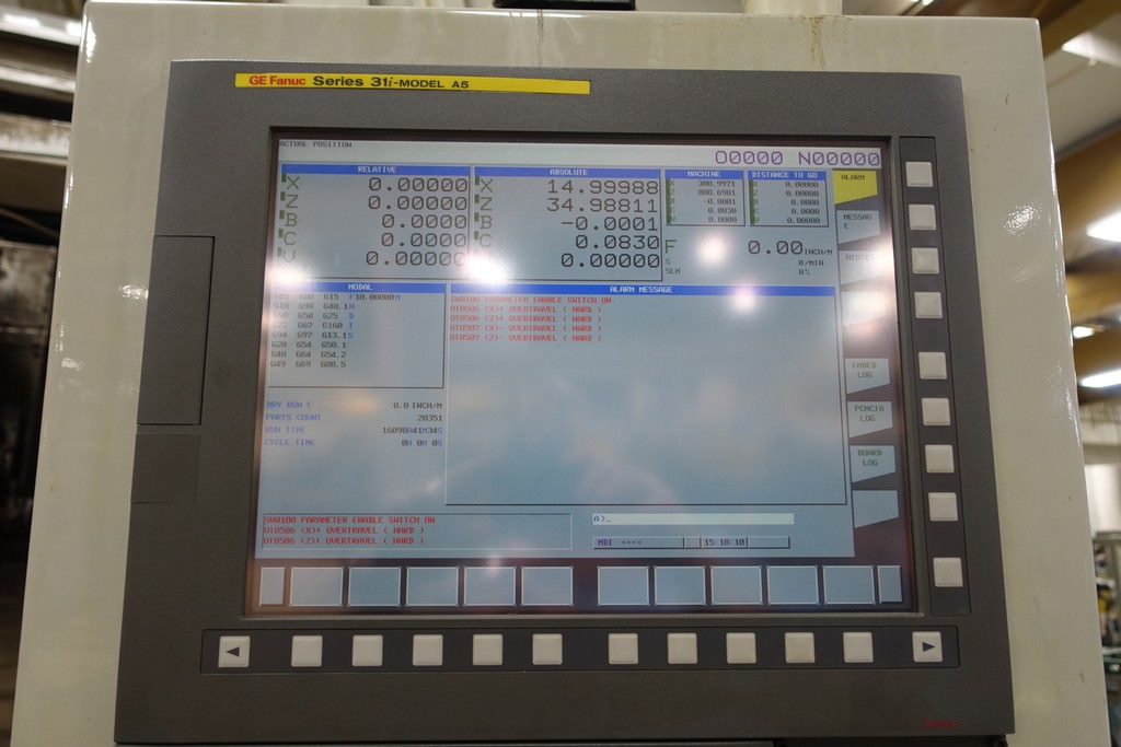 Campbell 1000-80-44-40/43 CNC Vertical Universal Grinder-30566s