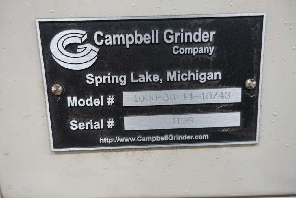 Campbell 1000-80-44-40/43 CNC Vertical Universal Grinder-30566z