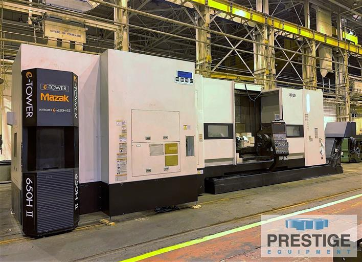 Mazak Integrex e650H-SII/3000 CNC Multi-Axis Mill Turn Center