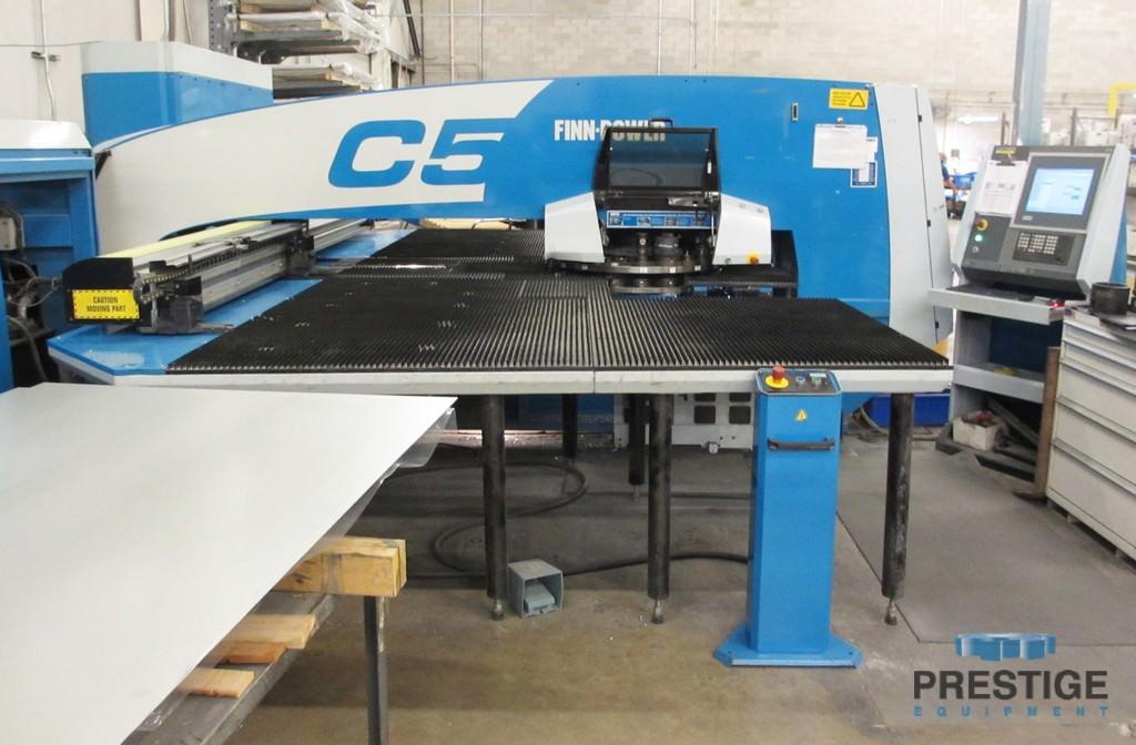Finn-Power C5 33 Ton Turret Punch Press