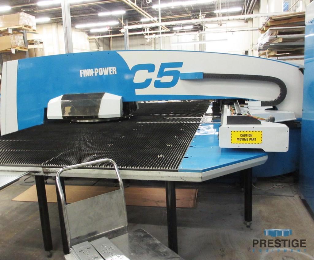 Finn-Power C5 33 Ton Turret Punch Press -30621a