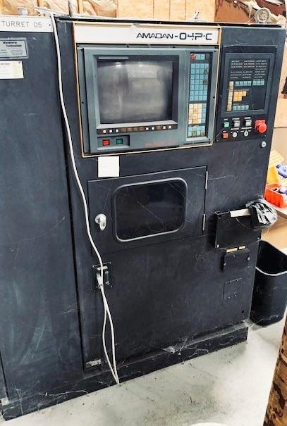 Amada Pega 357 33 Ton Hydraulic CNC Turret Punch-30626a