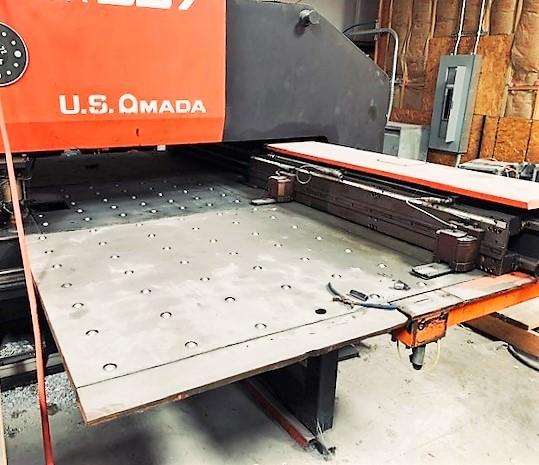 Amada Pega 357 33 Ton Hydraulic CNC Turret Punch-30626b