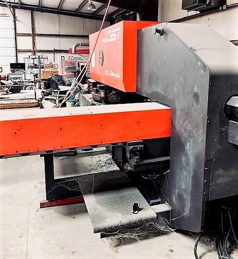 Amada Pega 357 33 Ton Hydraulic CNC Turret Punch-30626d