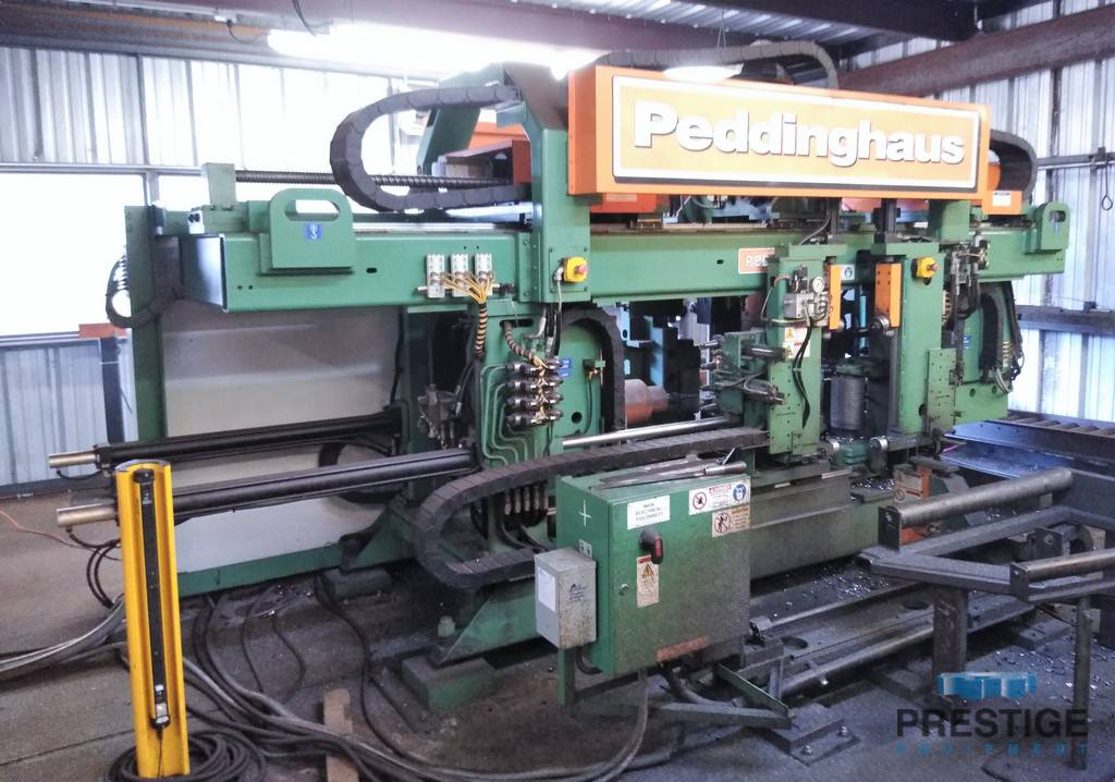 Peddinghaus-PCD-1100-3C-Advantage-2-CNC-Beam-Drill-&-Saw-Line