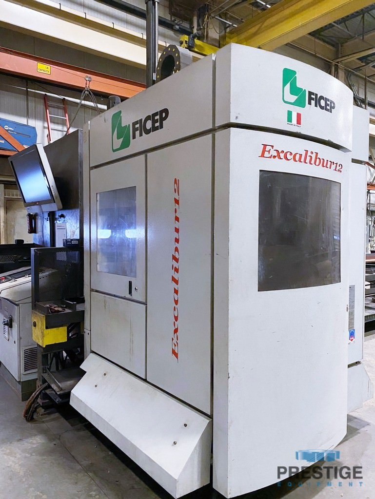 Ficep-Excalibur-12-CNC-Single-Spindle-Traveling-Column-Drill-With-Automatic-Tool-Changer