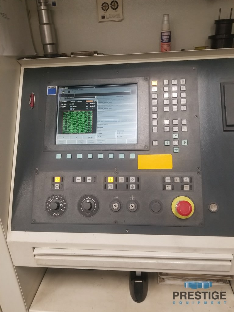 Trumpf 3200 Watt TruLaser 2525 CNC Laser-30746d