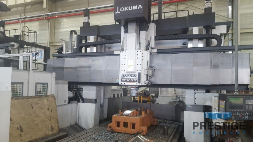 Okuma MCR-B III 30/50 5-Face CNC Double Column Machining Center