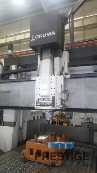 Okuma MCR-B III 30/50 5-Face CNC Double Column Machining Center-30748b