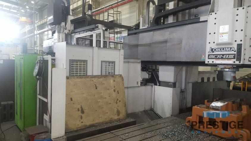 Okuma MCR-B III 30/50 5-Face CNC Double Column Machining Center-30748i