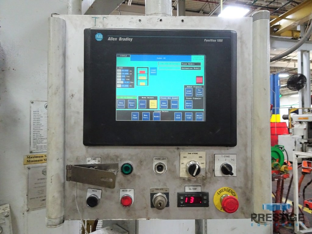 Sutherland HD2-550-84-72 Hydraulic Straight-side Press-30842a