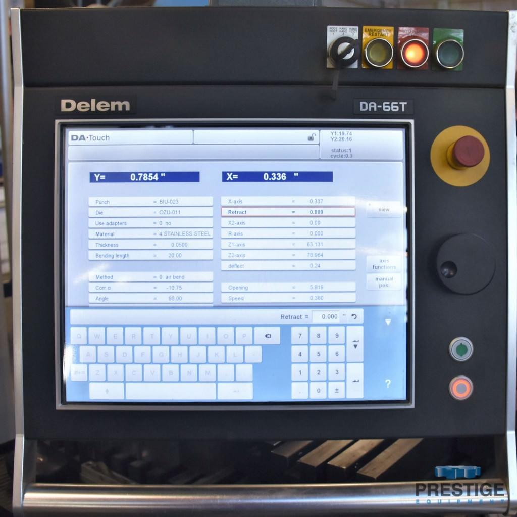Durma AD-S 37220 242 Ton x 12' CNC Press Brake-30910b