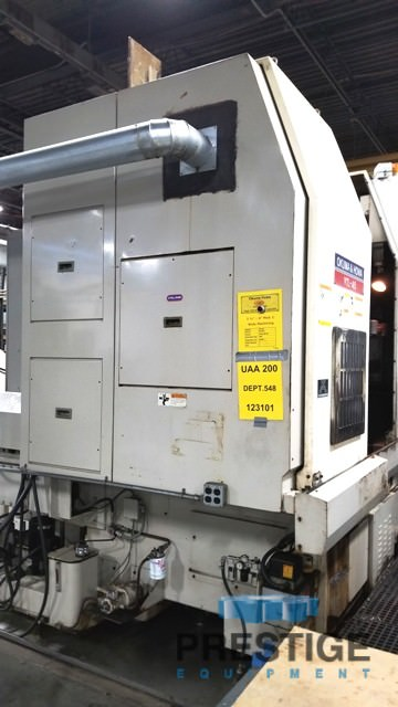 Okuma & Howa 4-Axis VTL-45M CNC Vertical Turning Center/ w/Milling-30952c
