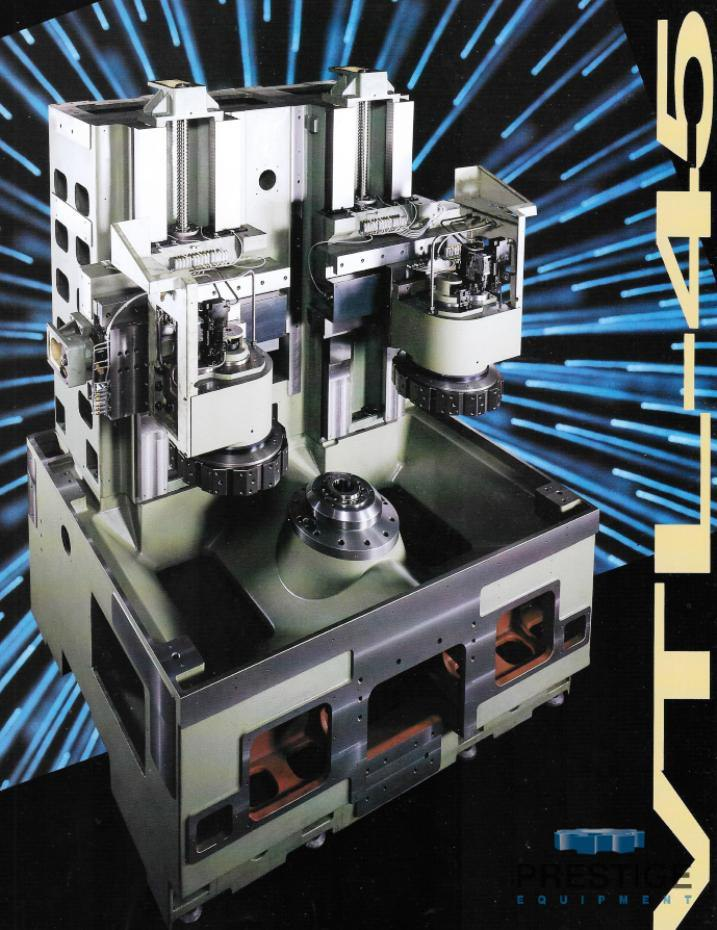 Okuma & Howa 4-Axis VTL-45M CNC Vertical Turning Center/ w/Milling-30952i