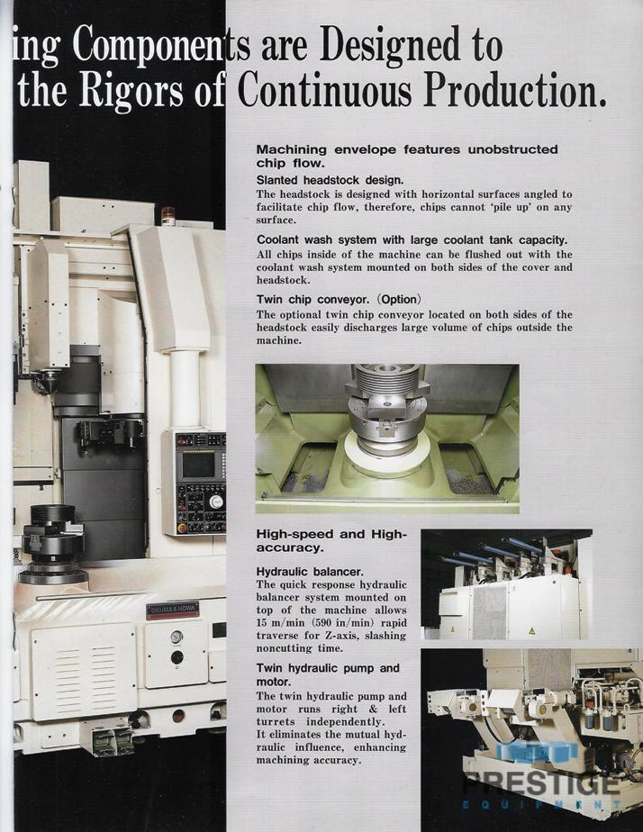 Okuma & Howa 4-Axis VTL-45M CNC Vertical Turning Center/ w/Milling-30952k