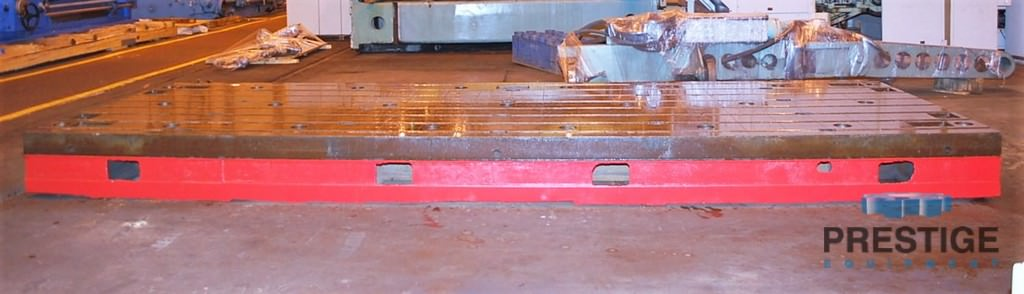 Floor Plates, T-Slotted, 1981 MM  x 5994 MM  x 400 MM  Cast Iron, (2) Available, Matched -30985b