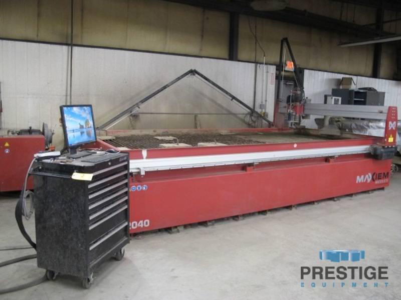 Omax-Maxiem-2040-CNC-Abrasive-Water-Jet-Cutting-System