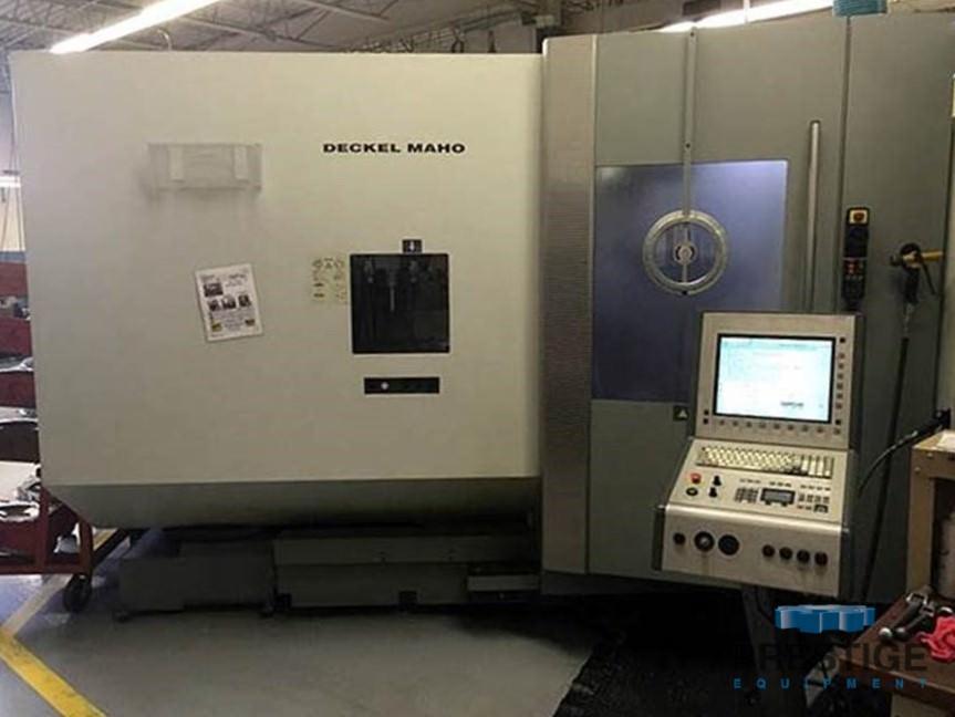 DMG DMC-60T 5-Axis CNC FMS, 2-Machines with Fastems APC