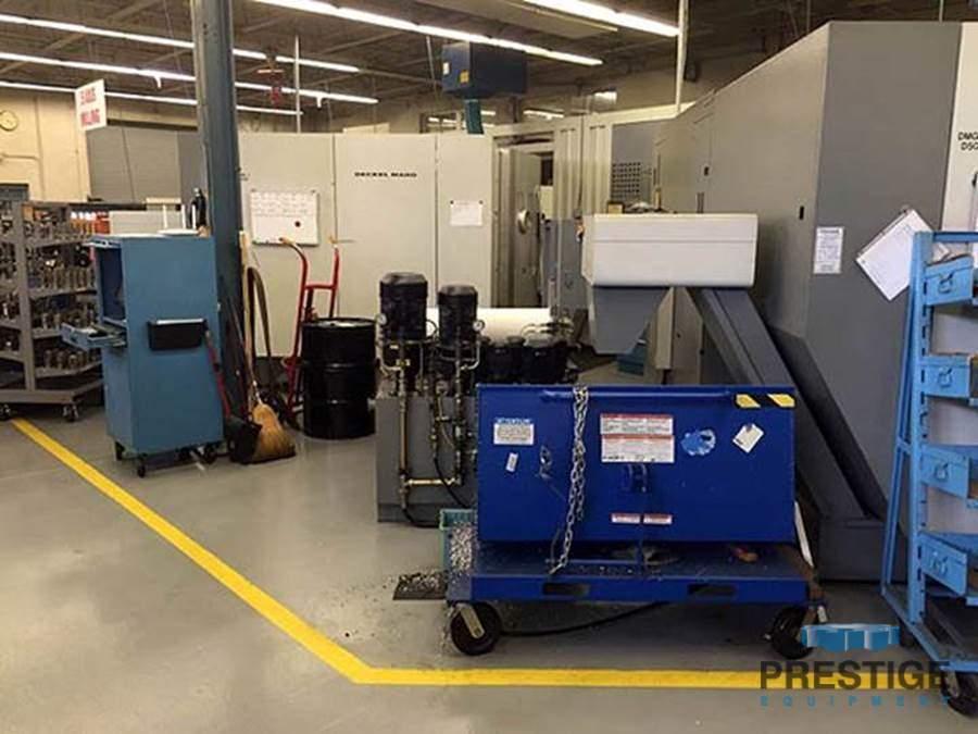 DMG DMC-60T 5-Axis CNC FMS, 2-Machines with Fastems APC-30988g