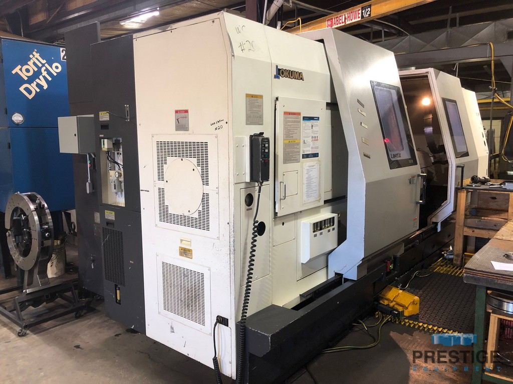 OKUMA LB-45IIIC/2000 Large Capacity CNC Lathe