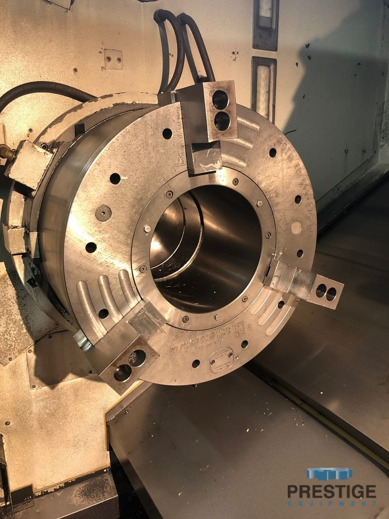 OKUMA LB-45IIIC/2000 Large Capacity CNC Lathe-31004b