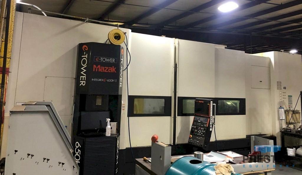 MAZAK Integrex e650HSII CNC Turning & Milling Center