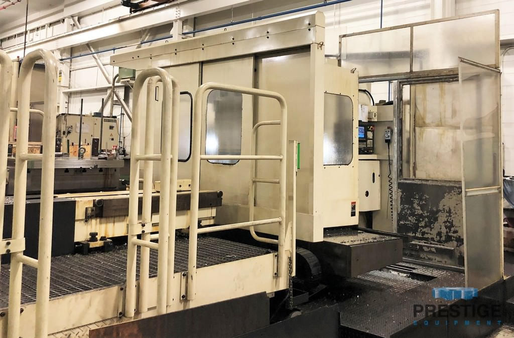 Toshiba BTD-200QF CNC Boring Mill with Dual Pallets -31015a