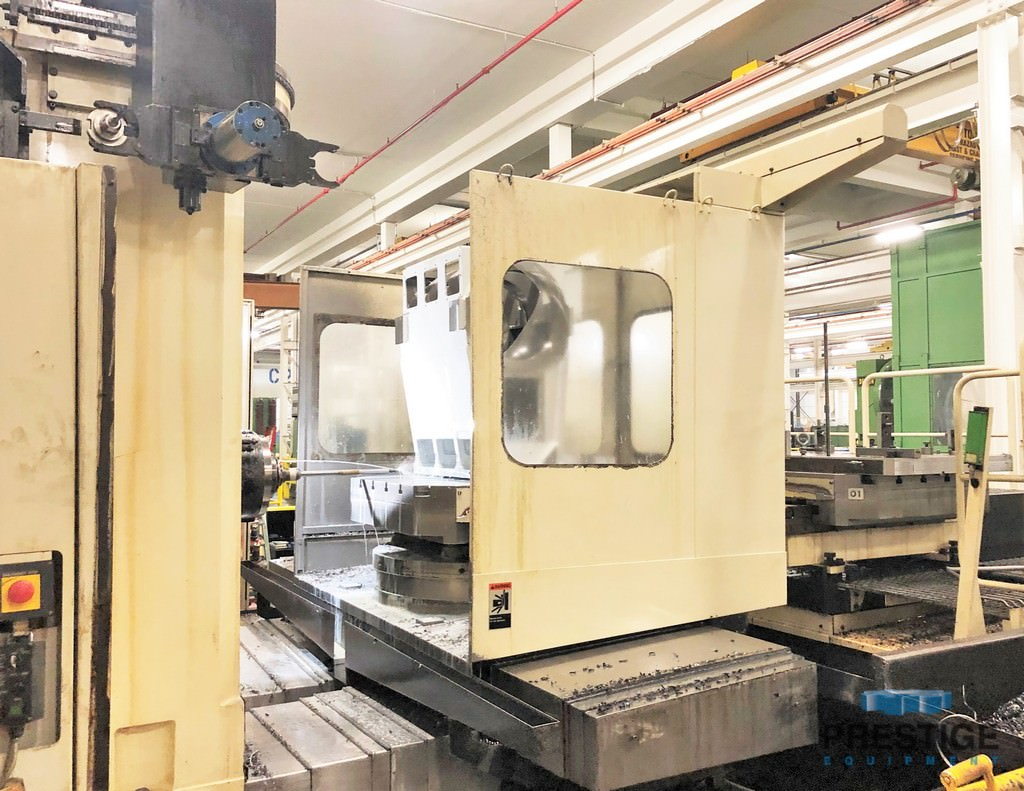 Toshiba BTD-200QF CNC Boring Mill with Dual Pallets -31015b