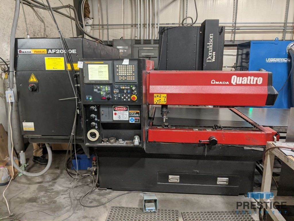 Amada-Quattro-2-KW-50-x-50-CO2-Laser